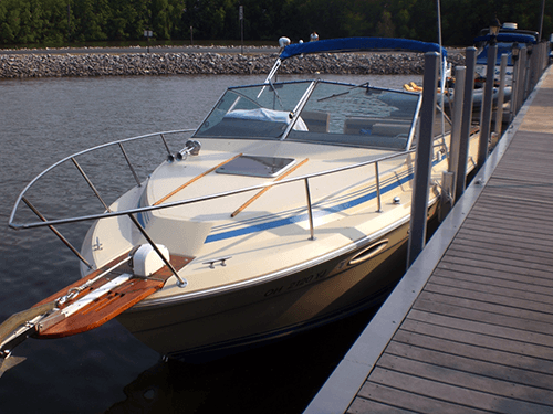 product Nauti-GLIDE on boat by deck